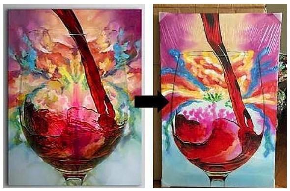 Alınan tablo nasıl farklı gelebilir ki?