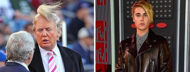 Donald Trump ve Justin Bieber