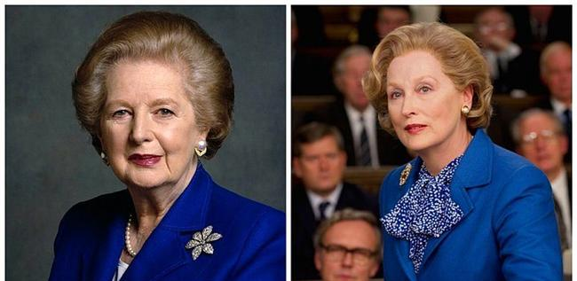 "Margaret Thatcher - Meryl Streep, ""The Iron Lady"". ""Demir Leydi"""