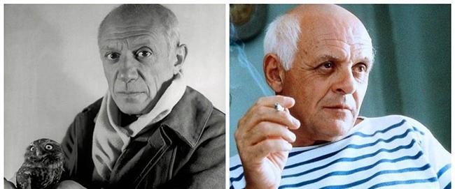 "Pablo Picasso - Anthony Hopkins, ""Surviving Picasso"" ""Picasso ile yaşamak"""