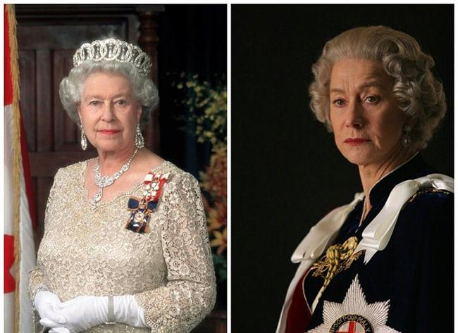 "II. Elizabeth - Helen Mirren, ""The Queen"". ""Kraliçe"""