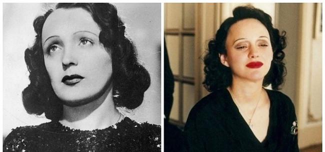 "Edith Piaf - Marion Cotillard, ""La Vie en Rose"". ""Kaldırım Serçesi"""