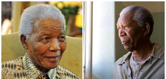 """Nelson Mandela - Morgan Freeman, """"Invictus"""". """"Yenilmez"""""""