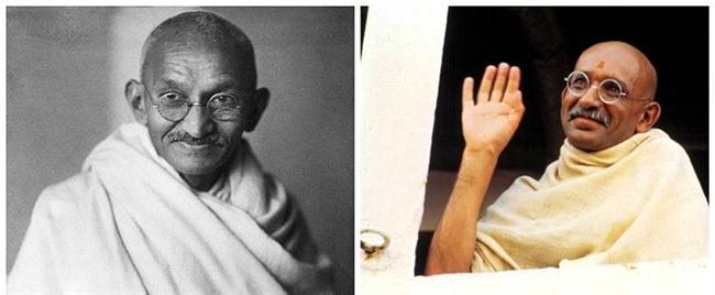 """Mahatma Gandhi - Ben Kingsley, """"Gandhi"""""""