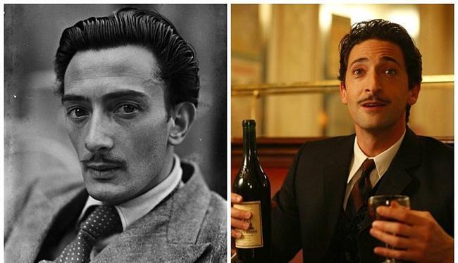"Salvador Dalí - Adrien Brody, ""Midnight in Paris"". ""Paris'te Gece Yarısı"""