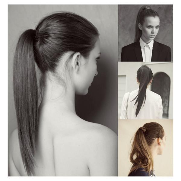 Saçını bağlarken tokanı iki tur atarsın çok bol, üç tur atarsın çok dar olur...