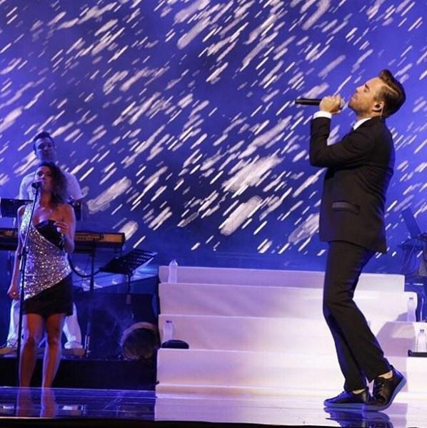 """Murat Dalkılıç  Asia-Pasific song festival /AbuTv şarkı festivalinde ülkemizi """"Leyla"""" şarkımızla temsil etmeye karar verdik.. 28th October✌️"""