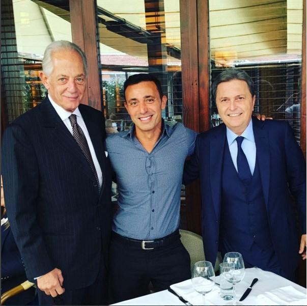 Mustafa Sandal  Benim iki güzel abim, iki büyük karizma! Faruk Süren ve Hüsnü Güreli ile birlikte...