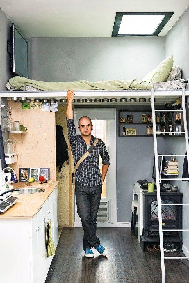 5. Çok küçük bir evde yaşamak zorunda mısınız? Artık bunu dert etmeyin.