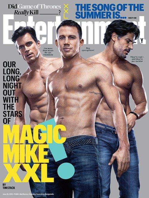 Magic Mike XXL: Listeye görkemli bir final yakışır dedik. Güçlü bir oyuncu kadrosu, bol karın kası, şahane vücutlar ve striptiz şovları ile Magic Mike XXL'i asla ıskalamaman gerek.
