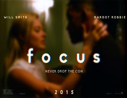 Focus: Glenn Ficarra ve John Requa'nın ortak yazıp yönettiği Focus'un başrollerini Will Smith ve Margot Robbie paylaşıyor.