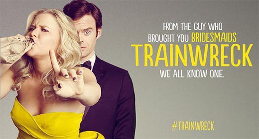 Trainwreck: İki komedi devi Amy Schumer ve Bill Hader'ın başrollerini paylaştığı filmin yönetmen koltuğunda Judd Apatow bulunuyor.