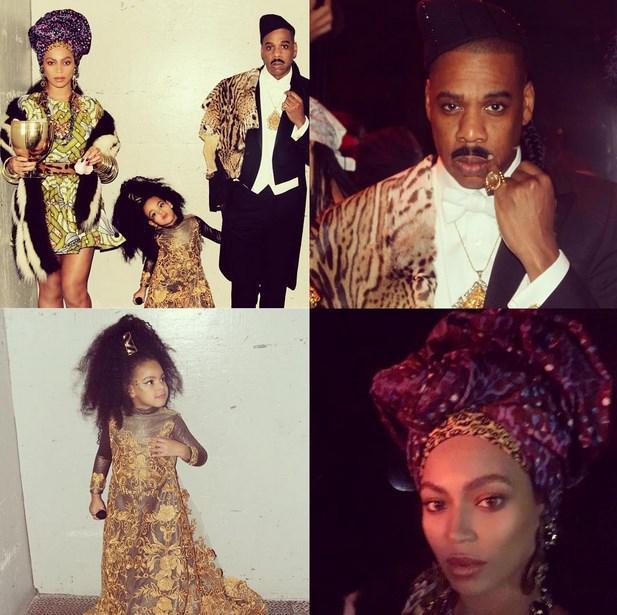 Beyoncé, Jay Z, and Blue Ivy