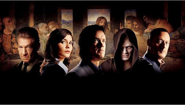 """Da Vinci Şifresi / The Da Vinci Code (2006)  IMDb: 6.5  Dan Brown'ın çoksatan romanından uyarlanan filmi Akıl Oyunları filmine imza atan Ron Howard yönetmişti. Simgebilim profesörü Robert Langdon'ın şifreler içindeki dansının filme nasıl aktarıldığını görmek isteyenler izlemeli.  Bir izleyici yorumu: """"Eğer kitabı okuduktan sonra izlerseniz büyük bir tat alacaksınız."""" / emogorn"""