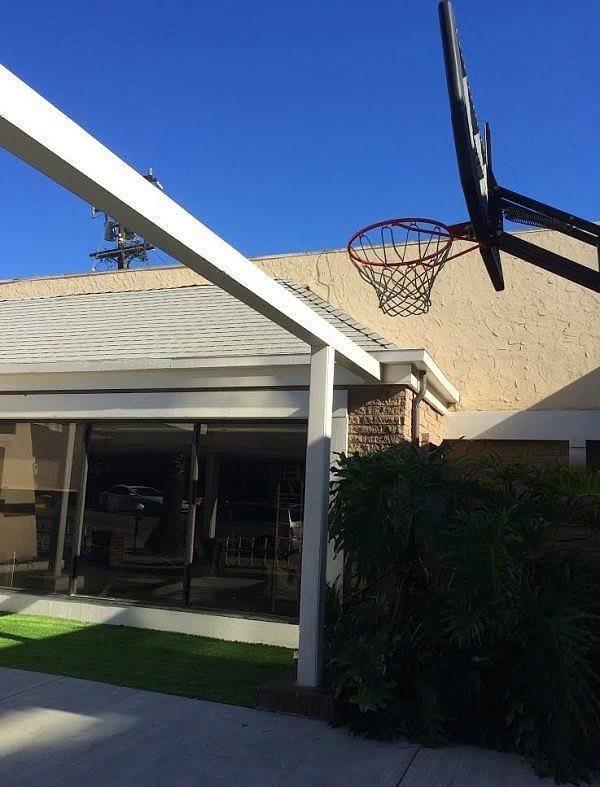 Basketbol + yüksek atlamadan oluşan yeni bir spor dalı