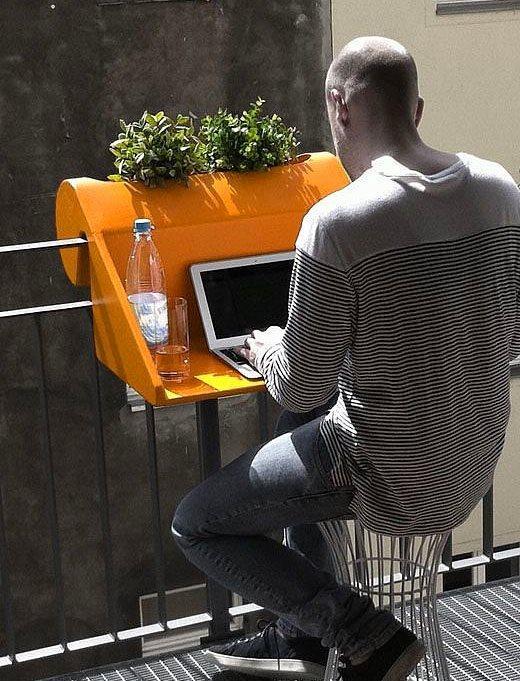 20. Eğer çalışasın ve aklın varsa, küçücük balkon bile yeter aslında.