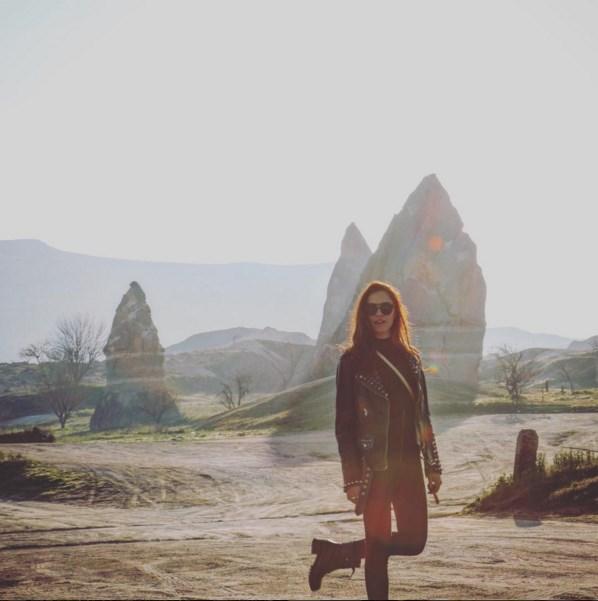 Şükran Ovalı  #tbt kapadokya 🎈 foto by @sukruozyildiz ❤️