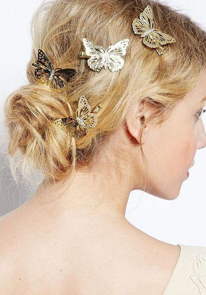 Kış aylarında çok fazla bileklik, kolye kullanılmıyor. Bunun yerine takılar saçlara taşınıyor.