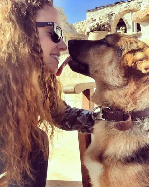 Ayşe Özyılmazel  Mini ve Diva görmesin 😜🙈 Kapadokya'daki aşkım BoboJoe ya da Bobiş 😂