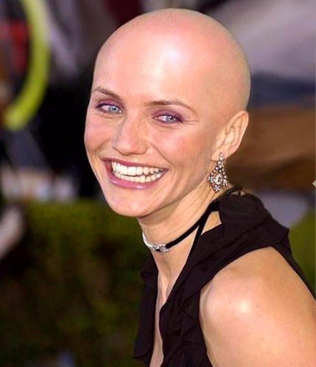 """Diaz """"Kız Kardeşimin Hikayesi"""" adlı film için o güzel saçlarından vazgeçmişti."""