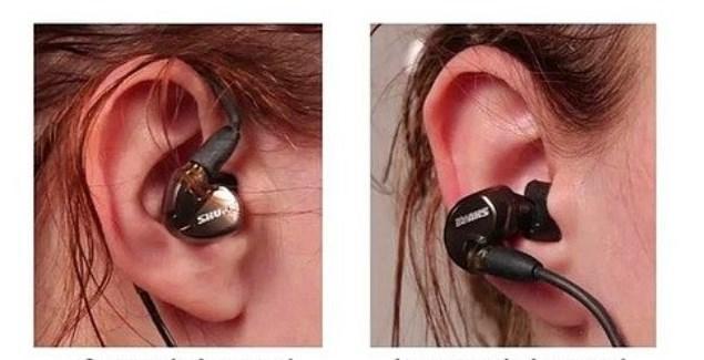Kulaklıkları Yanlış Takıyoruz  Kulaklıkları, kulağı saracak şekilde takmalısınız.
