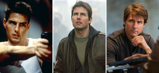 Tom Cruise (33-43-53)  Mission: Impossible / War of the Worlds / Mission: Impossible - Rogue Nation