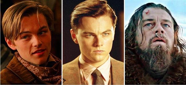 Leonardo DiCaprio (21-31-41)  The Quick and the Dead / The Aviator / The Revenant