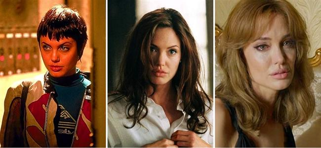Angelina Jolie (20-30-40)  Hackers / Mr. & Mrs. Smith / By the Sea