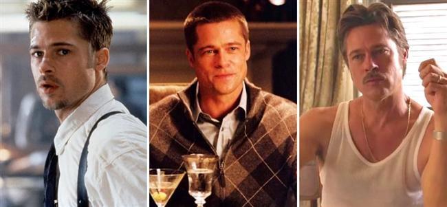 Brad Pitt (31-41-51)  Se7en / Mr. & Mrs. Smith / By the Sea