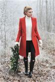 Bu Kışın Renkleriyle Palto Kombinleri - 14