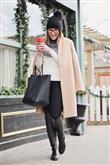 Bu Kışın Renkleriyle Palto Kombinleri - 24