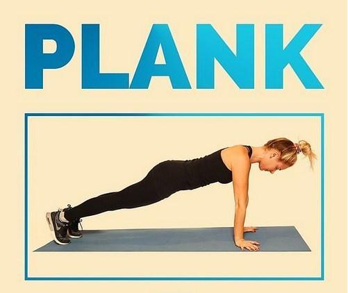 Tıpkı şınavda olduğu gibi, tüm yük omuzlarınızda olmasın. Böylece daha uzun süre plank pozisyonunu koruyabilirsiniz.