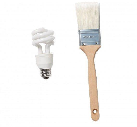Ampüllerinizi boya fırçasıyla temizleyebilirsiniz.