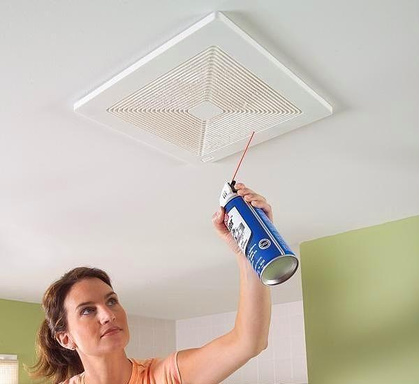 Havalandırma filtrelerini sıkıştırılmış havayla temizleyin.