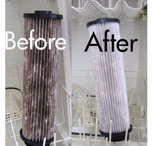 Elektrik süpürgenizin filtresi uygunsa bulaşık makinesinde yıkanabilir.