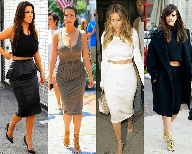 Bu ailenin moda dünyasına olan etkisi tartışılmaz. Kardashian ailesinin yön verdiği trendleri derledik.  1. Kalem Etek  Kim Kardashian'ın üniforması haline gelen dizaltı kalem etekler, moda dünyasında mini eteklerin tahtını sarstı.