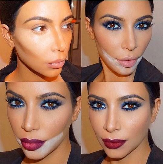 7. Makyajı Pişirmek  Kim Kardashian'ın makyaj dünyasına katkıda bulunduğu bir diğer trend de makyajı pişirmek. Yoğun kapatıcı ve pudra kullanarak vücut ısısıyla pişmesini sağlamaya dayanan ve böylece yüzü pürüzsüz gösteren bu yöntem, günlük kullanım için fazla ağır olsa da özel günler için ideal.