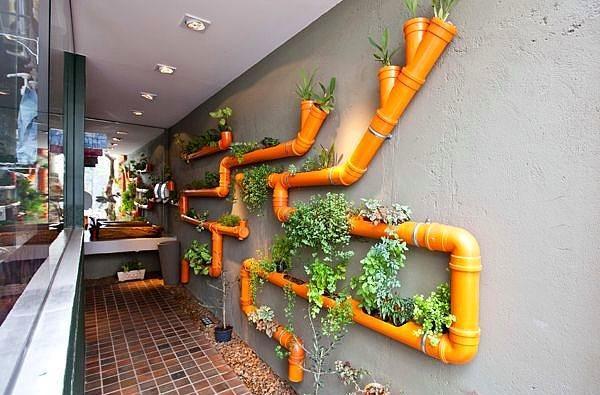 Ev İçi Bahçe Dekorasyon Örnekleri - 11