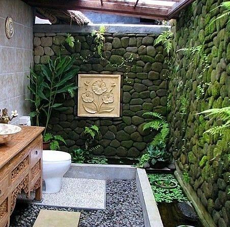 Ev İçi Bahçe Dekorasyon Örnekleri - 18