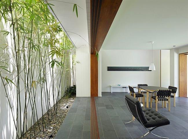 Ev İçi Bahçe Dekorasyon Örnekleri - 21