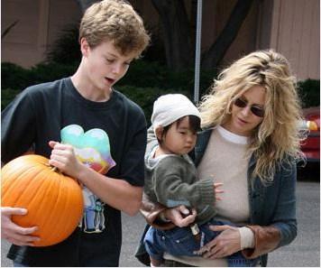 Ryan'ın çocukları birbirleriyle çok iyi anlaşıyor.