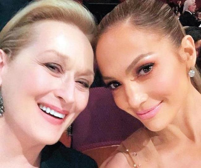 Onunculuk ise Meryl Streep ve Jennifer Lopez'in.  Kaynak:Hürriyet