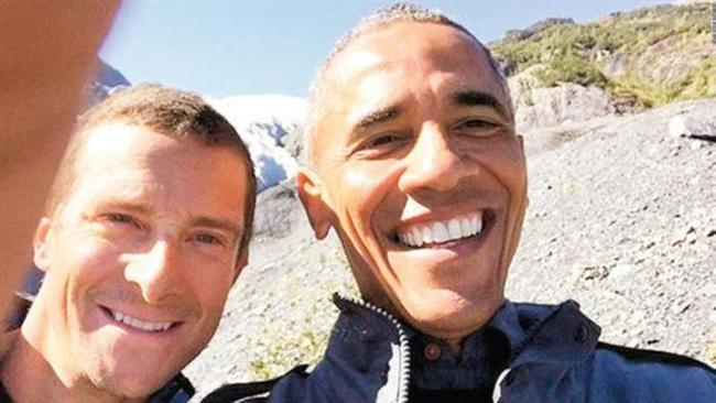 Barack Obama ile Bear Grylls'in pozları dördüncü sırada yer buldu.