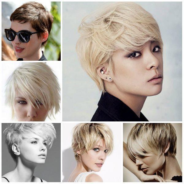 2016' nın saç trendlerini merak ediyorsanız, işte size yeni sezonun birbirinden güzel saç modelleri...  KISA SAÇLAR  2016 sezonunda öne çıkan saç modellerinden biri de kısa saçlar. Değişik ve dinamik bir görünüm isteyenlerin tercih edebileceği bir model. Tabi biraz cesaret istiyor bu modeli uygulamak.