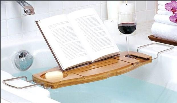 Tuvalette okuma alışkanlığına daha romantik bir seçenek