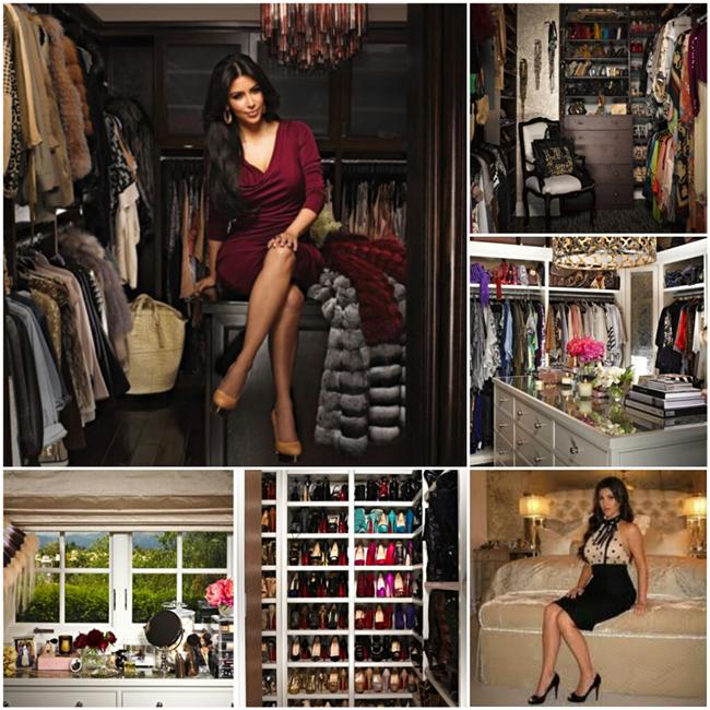 Kim Kardashian  Yaptığı her şey ile olay yaratan ünlünün gardırobundan 1000 çiften fazla ayakkabı bulunuyor. İlginç ve farklı kıyafetleri ile her daim dikkatleri üzerine toplayan bir ünlü.