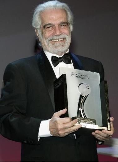'Arabistanlı Lawrence' ve 'Dr.Jivago' gibi filmleriyle bilinen Mısırlı oyuncu Ömer Şerif