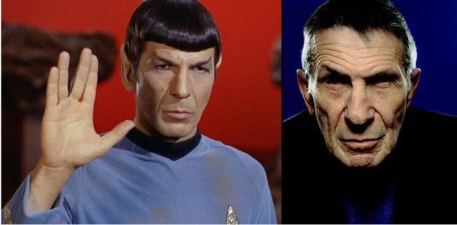 Uzay Yolu dizisinde Spock rolüyle tanıdığımız Leonard Nimoy