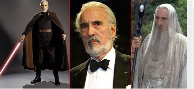 Yüzüklerin Efendisi'ndeki Saruman ve Yıldız Savaşların'daki Count Dooku karakteriyle hafızalarda yer eden Sir Christopher Lee