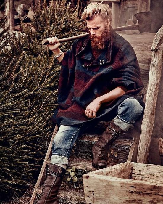 """""""Lumberjack"""" diye bir erkek tipinin varlığını dehşetle fark ettik."""